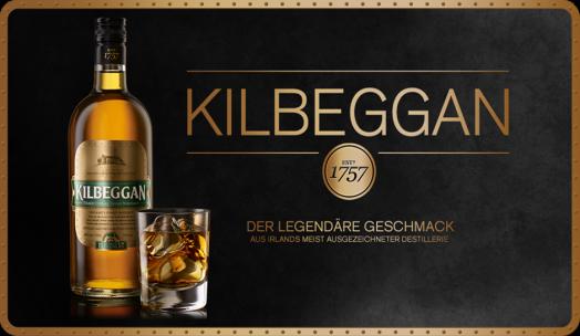 Kilbeggan Irish Whiskey im mon ami in Dinklage