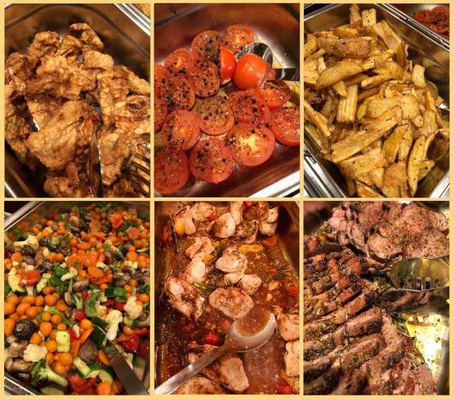 Mittagsbüffet, Mittagessen, Mittagstisch, Mittagspause, Verpflegung