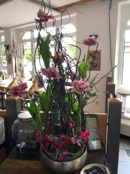 Tischdeko, Tischdekoration, Hochzeitsschmuck, Familienfeier, Hochzeit, geschlossene Gruppen